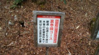 巻機山 桜坂駐車場
