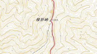 枝折峠駐車場 越後駒ケ岳