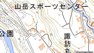 山岳スポーツセンター 諏訪丸駐車場
