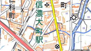 信濃大町駅前駐車場